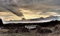 Winter sky on Terschelling